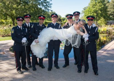 police-wedding