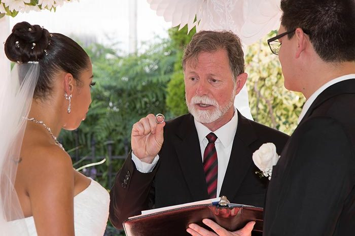 Wedding Officiant in Burlington